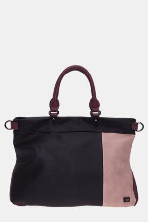 handtasche-tasche-henkeltasche-bernardo_bossi-mode-333-01_schwarz-materialmix-mehrfarbig