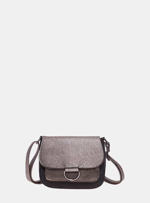 Schultertasche Abendtasche Umhängetasche Überschlagtasche Tasche PU Beige Bag