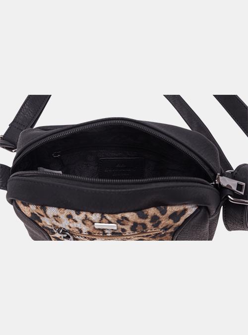 58e0188837244 handtasche-tasche-umhaengetasche-bernardo bossi-mode-306-01 schwarz-leopard-