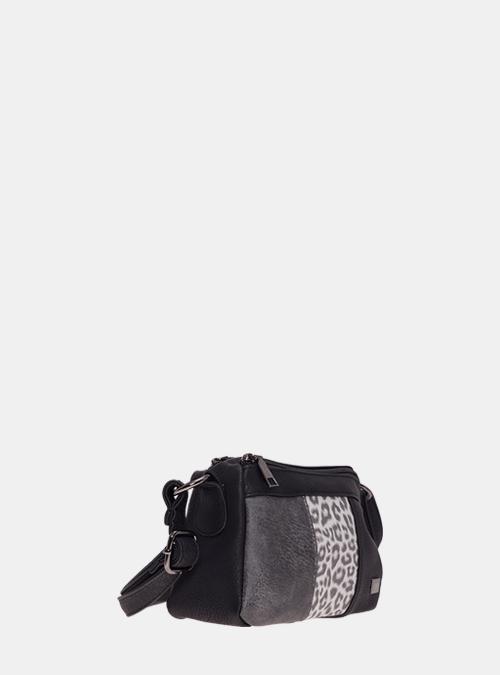 7604515a81b78 handtasche-tasche-umhaengetasche-bernardo bossi-mode-341-01 schwarz-leopard-